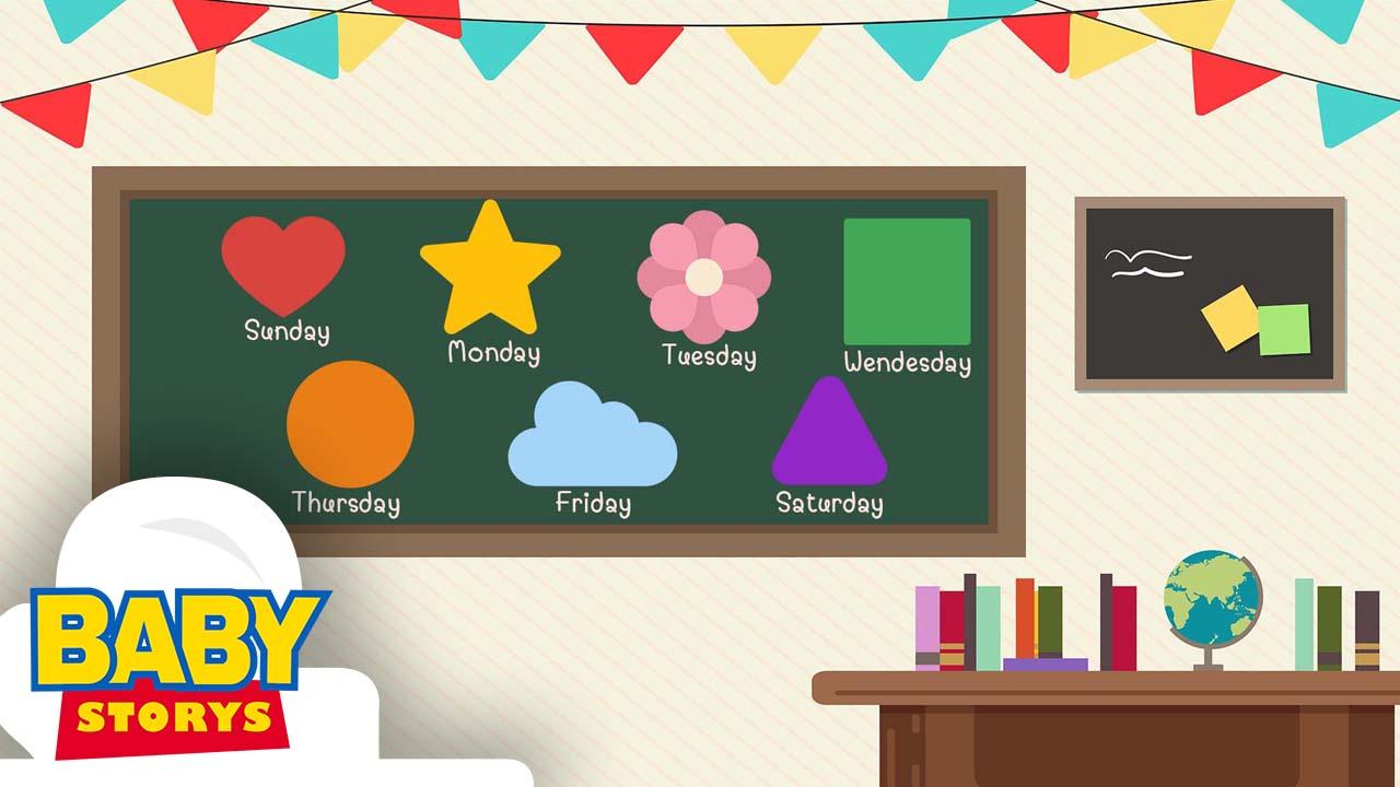 Days of the Week | เพลงสัปดาห์หนึ่งมี 7 วัน